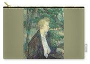 lautrec gabrielle 1891 Henri De Toulouse-Lautrec Carry-all Pouch