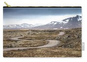 Lava Field In Iceland Carry-all Pouch