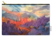 Lava Flow Abstract Carry-all Pouch