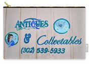 Lavender And Lace Sign - Clarksville Delaware Carry-all Pouch