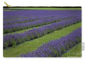 Lavendar Rows Carry-all Pouch