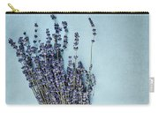 Lavender And Antique Scissors Carry-all Pouch
