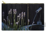 Lavender And Watering Can Carry-all Pouch