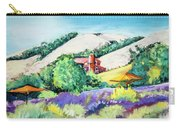 Lavender At Matanzas Creek Carry-all Pouch