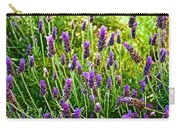 Lavender At Pilgrim Place In Claremont-california Carry-all Pouch
