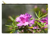 Lavender Rhododendrun Carry-all Pouch