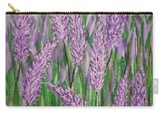 Lavender Blooms Carry-all Pouch