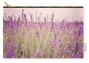 Lavender Blossom Carry-all Pouch