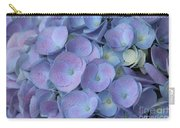 Lavender Blue Hydrangea Carry-all Pouch