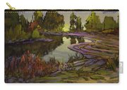 Lavender Field, Langley B C Carry-all Pouch