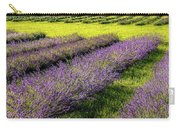 Lavender Fields Forever Carry-all Pouch by Kendall McKernon