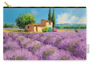 Lavender Fields In Provence Carry-all Pouch