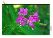Lavender Fireweed Carry-all Pouch