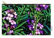 Verbena At Pilgrim Place In Claremont-california   Carry-all Pouch