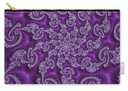 Lavender Fractal  Carry-all Pouch