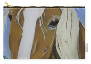 Lavender Horse Carry-all Pouch