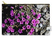 Lavender In The Rocks Carry-all Pouch