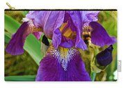 Lavender Iris At Pilgrim Place In Claremont-california  Carry-all Pouch