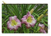 Lavender Lily Triad Carry-all Pouch