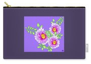 Lavender Peonies Carry-all Pouch