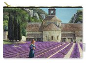Lavender Picker - Abbaye Senanque - Provence Carry-all Pouch