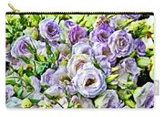 Lavender Ranunculus  Carry-all Pouch
