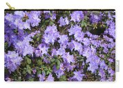 Lavender Rhododendrons Carry-all Pouch