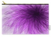 Lavender Spiral Carry-all Pouch