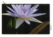 Lavender Tropical Water Lily Carry-all Pouch
