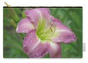 Lavender Vista - Daylily Carry-all Pouch