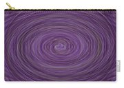 Lavender Vortex Carry-all Pouch