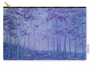 Lavender Woods Carry-all Pouch
