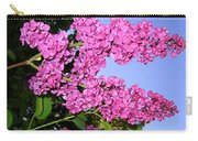 Lavish Lilacs Carry-all Pouch
