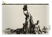 Law Prosperity And Power In Black And White Carry-all Pouch