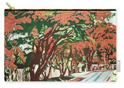 Lawson Avenue Flamboyants Carry-all Pouch