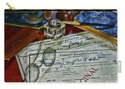 Lawyer - The Tax Attorney Carry-all Pouch