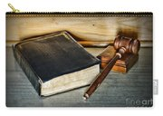 Lawyer - Truth And Justice Carry-all Pouch by Paul Ward