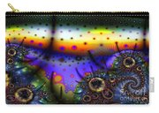 Layered Fractal World Carry-all Pouch