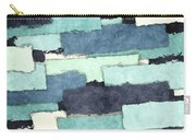 Layers Of Colors Pattern Carry-all Pouch