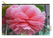 Layers Of Pink Camellia - Digital Art Carry-all Pouch