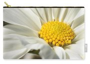 Layers Of White Cosmos Carry-all Pouch