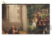 Lazarus And The Rich Man 1865 Carry-all Pouch