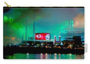 Laser Green Smoke And Reds Stadium Carry-all Pouch