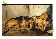 Lazy Moments Carry-all Pouch by John Sargent Noble