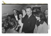 Lbj Taking The Oath On Air Force One Carry-all Pouch
