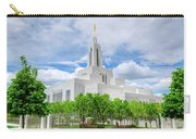 Lds Draper Temple Carry-all Pouch