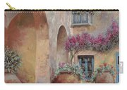 Le Arcate In Cortile Carry-all Pouch by Guido Borelli