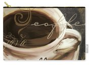 Le Cafe Dark Carry-all Pouch