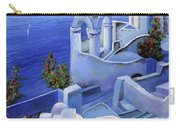 Le Chiese Blu Carry-all Pouch