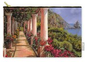 Le Colonne E La Buganville Carry-all Pouch by Guido Borelli